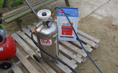 Hydrofuge, gevel en buitenmuren waterdicht maken